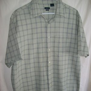 Van Heusen Studio Button-Down Short Sleeve Shirt
